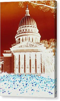 Photographic Cross-processing Creates Canvas Print by Stacy Gold