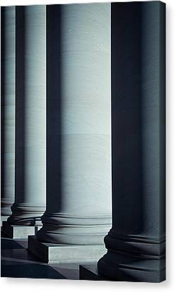 Pillars Of Law And Education Canvas Print