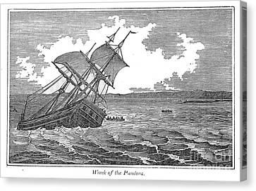 Pitcairn Island Canvas Print by Granger