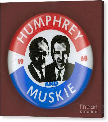 Presidential Campaign, 1968 Canvas Print by Granger