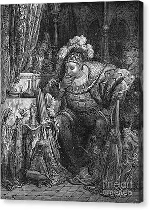 Rabelais: Pantagruel Canvas Print by Granger