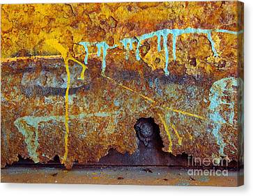Rust Colors Canvas Print