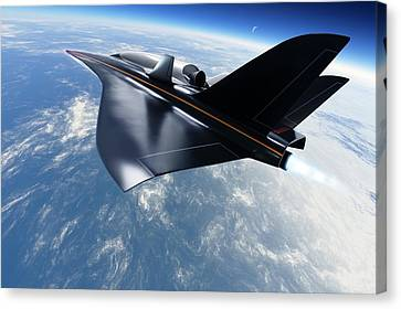 Saenger Horus Spaceplane, Artwork Canvas Print
