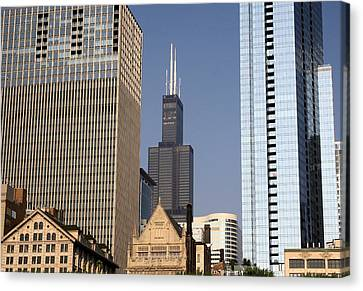 Sears Tower Canvas Print by Ely Arsha