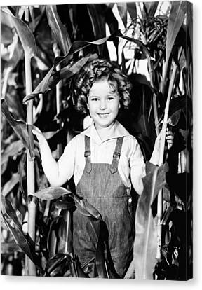 Shirley Temple (1928- ) Canvas Print