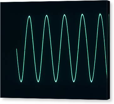Sound Wave Canvas Print by Andrew Lambert Photography