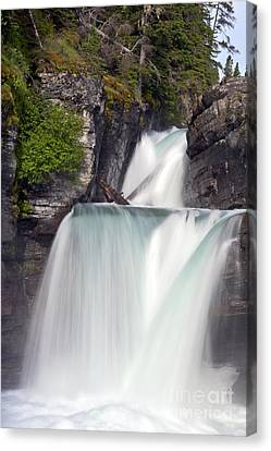 St Marys Falls Canvas Print by Scotts Scapes