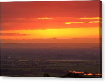 Sunset Canvas Print by Svetlana Sewell