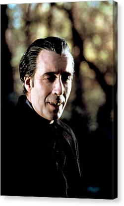 Taste The Blood Of Dracula, Christopher Canvas Print by Everett