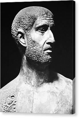 Terence (186?-159 B.c.) Canvas Print by Granger