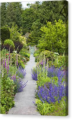 The Gardens Of Royal Roads University Canvas Print by Taylor S. Kennedy