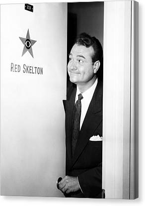 The Red Skelton Show, Red Skelton Canvas Print by Everett