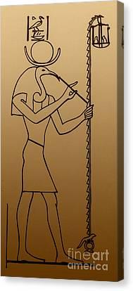 Thoth, Egyptian God Of Wisdom Canvas Print