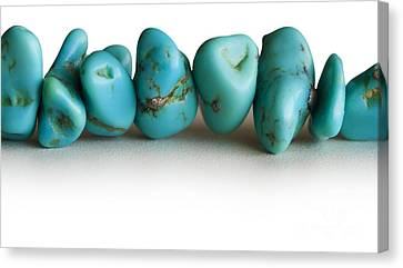 Turquoise Stones Canvas Print by Blink Images