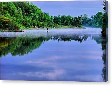 Untitled Canvas Print by Ken Beatty