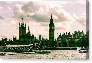 Westminster Canvas Print by Dawn OConnor