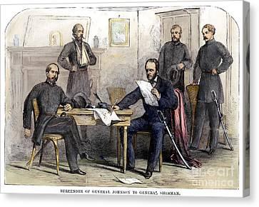 William Tecumseh Sherman Canvas Print by Granger
