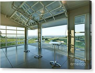 Winderlea Wine Tasting Room Canvas Print by Rob Tilley