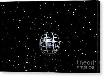 Planet Canvas Print by Odon Czintos