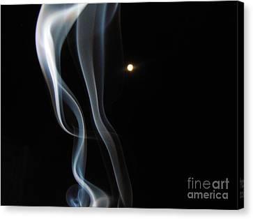 31 August Moon 3 Canvas Print