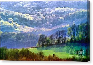 Landscape Canvas Print by Odon Czintos