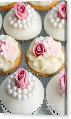 Wedding Cupcakes Canvas Print