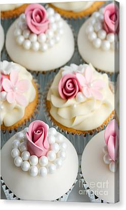 Wedding Cupcakes Canvas Print by Ruth Black
