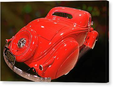 Canvas Print featuring the photograph 36 Custom Coupe by Bill Dutting
