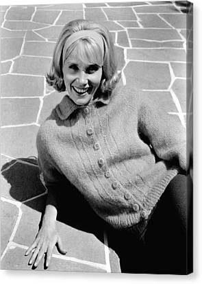 36 Hours, Eva Marie Saint, 1964 Canvas Print by Everett