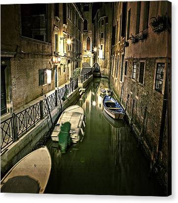 Gate Canvas Print - Venezia by Joana Kruse