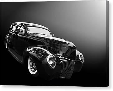 39 Ford Sedan Canvas Print by Bill Dutting