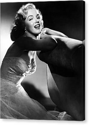 Films By Joseph L Mankiewicz Canvas Print - All About Eve, Marilyn Monroe, 1950 by Everett