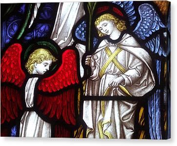Angels Canvas Print by Munir Alawi