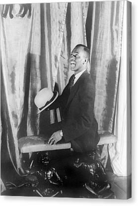 Bill Robinson 1878-1949, Also Known Canvas Print by Everett