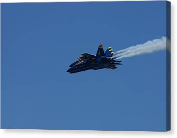 4 Blue Angels Canvas Print