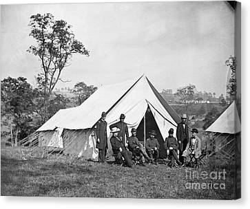 Civil War: Antietam, 1862 Canvas Print by Granger