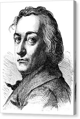 Claude-louis Berthollet, French Chemist Canvas Print by Science Source
