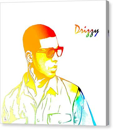 Drizzy  Canvas Print by The DigArtisT