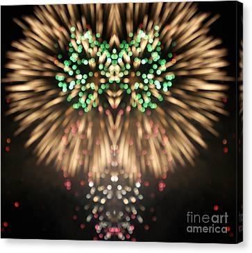 Independance Day Canvas Print - Firework by Odon Czintos