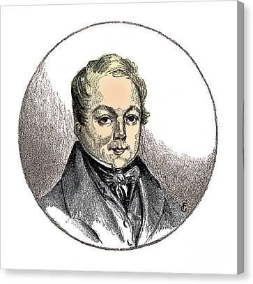 Fran�ois Magendie, French Physiologist Canvas Print