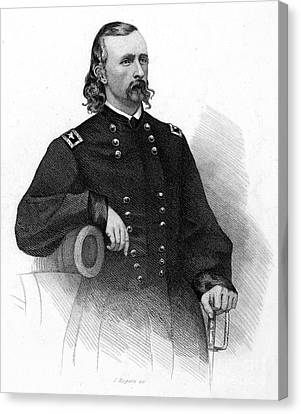 George Custer (1839-1876) Canvas Print by Granger