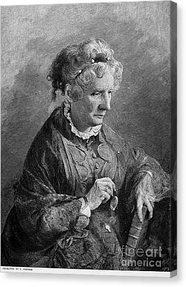 Harriet Beecher Stowe Canvas Print by Granger