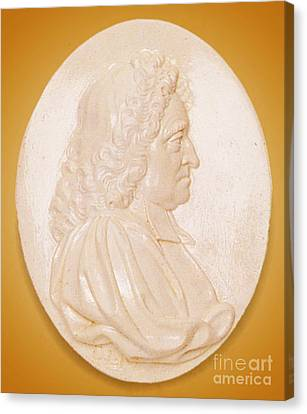 John Flamsteed, English Astronomer Canvas Print by Science Source