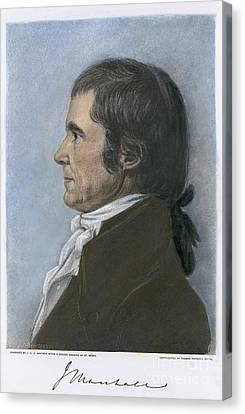 John Marshall (1755-1835) Canvas Print by Granger