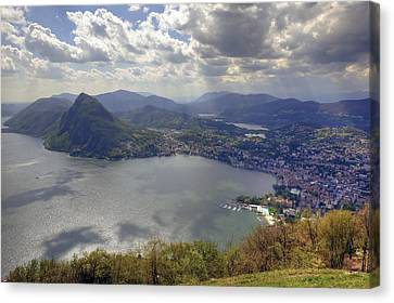 Lugano Canvas Print by Joana Kruse