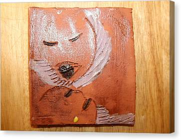 Mama - Tile Canvas Print by Gloria Ssali
