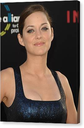 Marion Cotillard At Arrivals Canvas Print