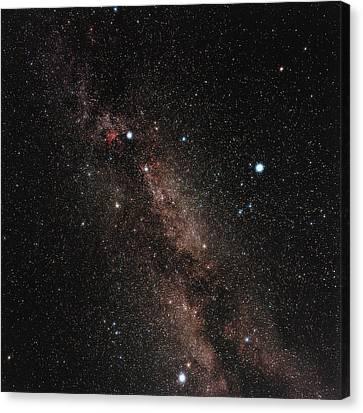 Milky Way Canvas Print by Eckhard Slawik