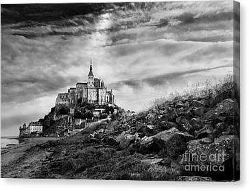 Mont-saint-michel France Canvas Print