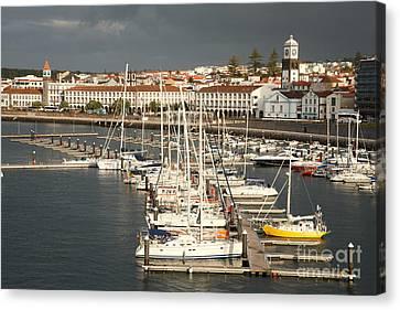 Ponta Delgada Canvas Print by Gaspar Avila